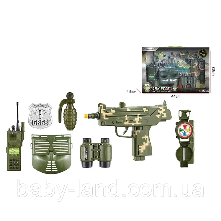 Військовий набір зброї F8528-2A