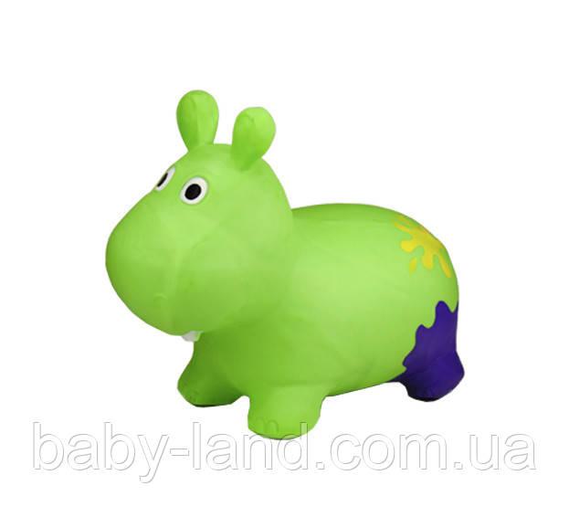 Стрибун гумовий G20153 Бегемот (Green)