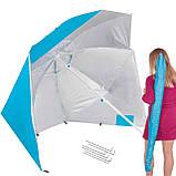 Пляжный зонт-тент 2 в 1 Springos Xxl BU0014 SKL41-252496, фото 4