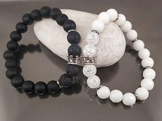 Браслеты из натуральных камней - отличный подарок любимым ко Дню Святого Валентина!