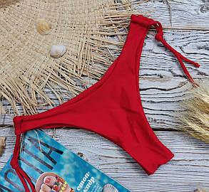Плавки бразилиана женские красные