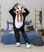 Кигуруми пижама Панда размер М - костюм животного с капюшоном, кигурими для взрослого рост 150, 160