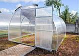 Теплиця Садівник Еліт 40 300х600х200 см з стільниковим полікарбонатом 4 мм SKL54-240875, фото 4
