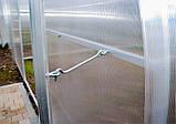 Теплиця Садівник Еліт 40 300х600х200 см з стільниковим полікарбонатом 4 мм SKL54-240875, фото 7