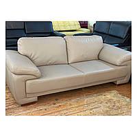 """Кожаный серый диван из экокожи """"Смарт"""""""