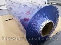 Плівка ПВХ силіконова, 200 мкм (0,2 мм) - 1,37х30м.Гнучке скло,м'яке скло,прозора, фото 3