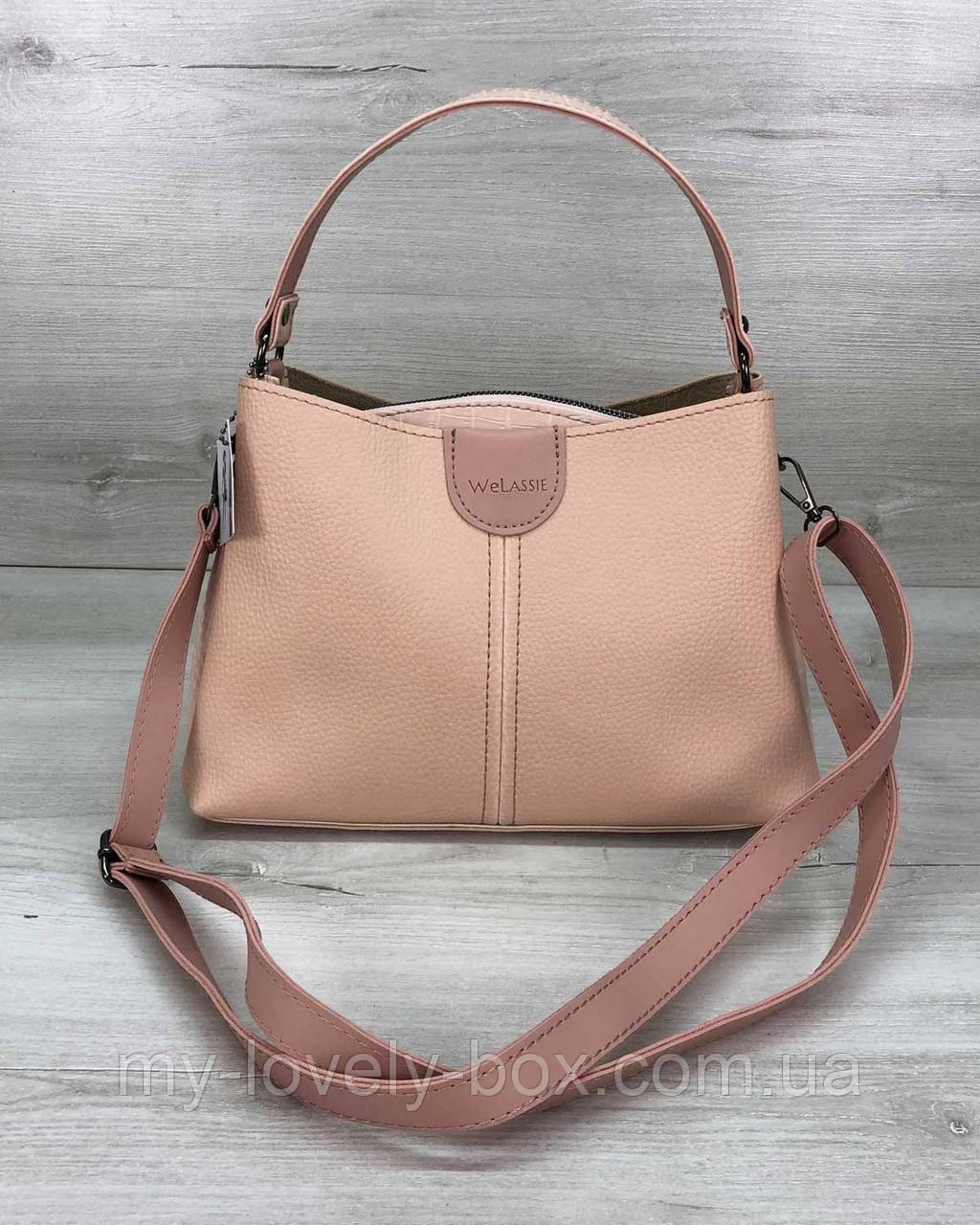 Женская сумка Илина пудра
