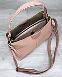 Женская сумка Илина пудра, фото 4
