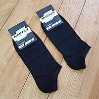 """Носок укороченный черный """"Премиум"""", размер 29 / 43-45"""