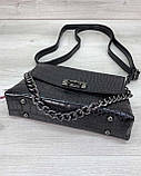 Женская сумка клатч «Келли» черная, фото 3