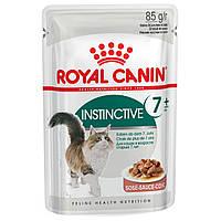 Влажный корм для кошек старше 7 лет Royal Canin Instinctive 7+, 85 г