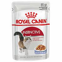 Влажный корм для кошек Royal Canin Instinctive in Jelly 85 г