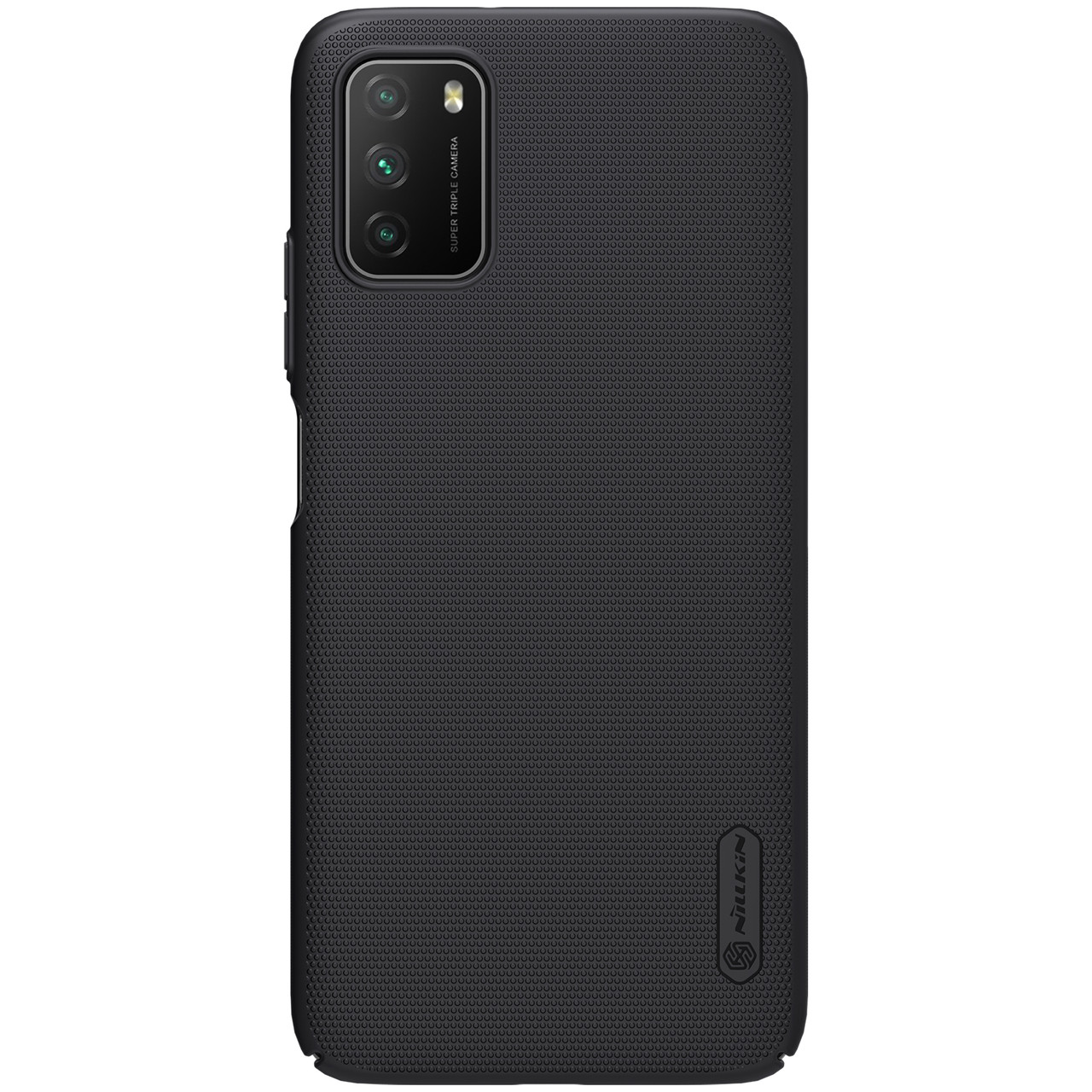 Захисний чохол Nillkin для Xiaomi Poco M3 Super Frosted Shield Black Чорний