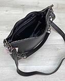 Женская сумка «Луна» черная, фото 4