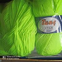 Нитки, пряжа для вязания Tunҫ Star Maxi TUNC