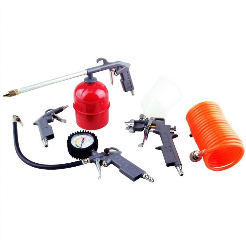 Набор пневматический Lex Польша 5 предметов, все в металле SKL11-236603