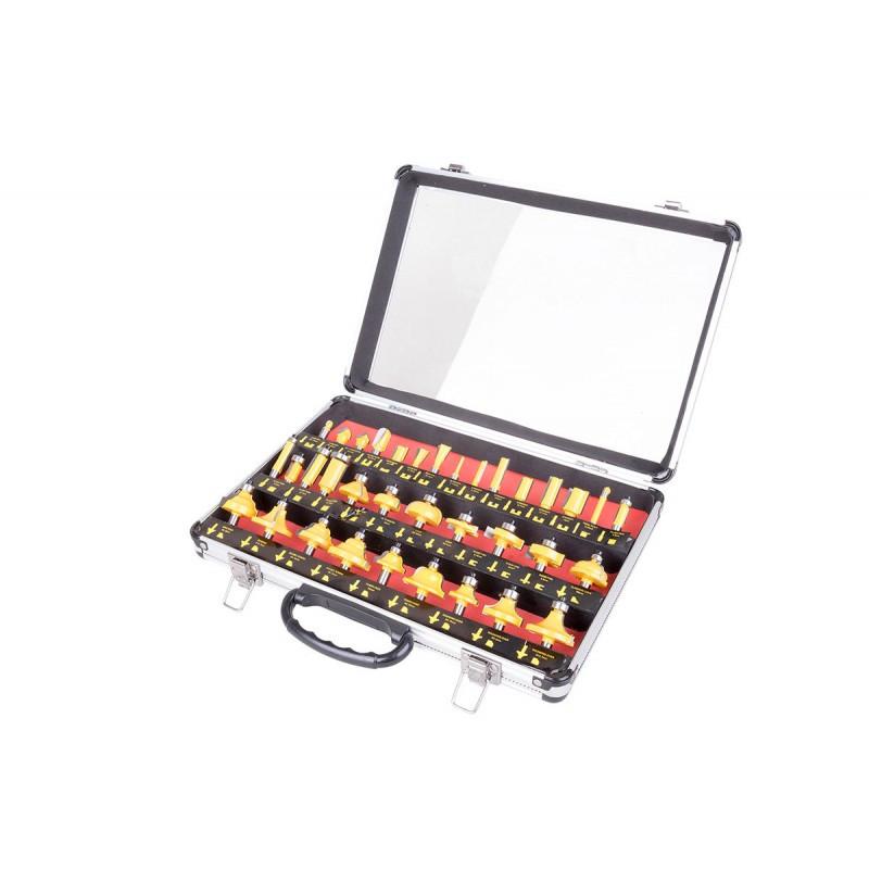 Набір фрез Euro Craft 35 штук в кейсі SKL11-236270