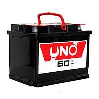 Аккумулятор автомобильный UNO 6СТ-60 Аз