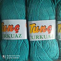 Нитки, пряжа для вязания Tunҫ Turkuaz TUNC