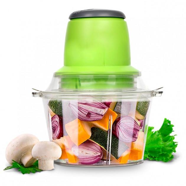 Кухонный электрический блендер двойной измельчитель Молния для мяса овощей и фруктов чоппер миксер смузи