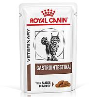 Влажный корм для кошек Royal Canin Gastro Intestinal с чувствительным пищеварением, 85г