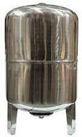 Гідроакумулятор 100л 10bar верт. нержавіюча сталь