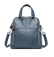 Сумка-рюкзак шкіряна жіноча (3 кольори)