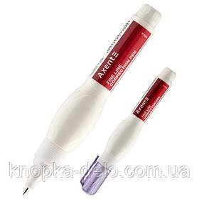 Корректор-ручка Axent 7010-А  Fine Line с металлическим наконечником. Объем жидкости 7 мл. Упаковка: дисплей.