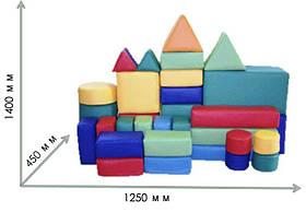 Мягкие напольные модули Мини, 37 эл.  TIA-SPORT, фото 3