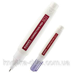 Корректор-ручка Axent 7002-А  с металлическим наконечником.Корректор-ручка 8 мл