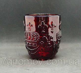 Набор 6 стаканов из красного цветного стекла Bailey King 250 мл