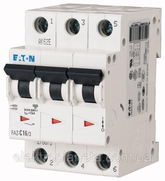 Автоматический выключатель Eaton/Moeller 3pol HL4 B 40A
