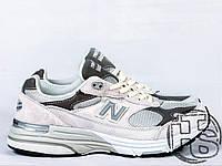 Мужские кроссовки New Balance 993 USA Grey WR993GL Размер 42