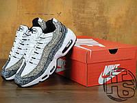 Женские кроссовки Nike Air Max 95 Premium Black Safari 807443-100