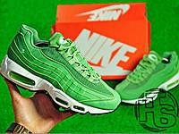 Мужские кроссовки Nike Air Max 95 Green/White 307960-300