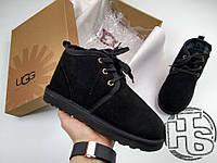 Мужские ботинки UGG Neumel Suede Boots Black 3236