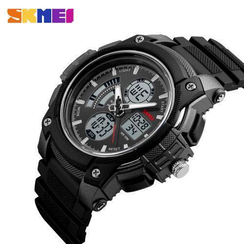 Skmei 1192 Черные  мужские спортивные  часы