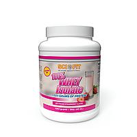 Протеин - Изолят сывороточного протеина - SciFit 100% Whey Isolate 1363 g Strawberry