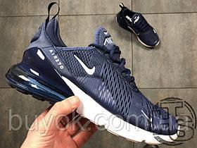 Чоловічі кросівки Nike Air Max 270 Flyknit Blue/White