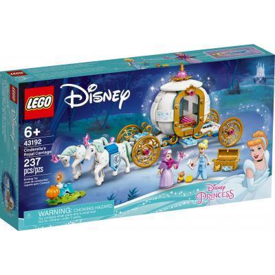 Конструктор LEGO Disney Princess Королевская карета Золушки 237 деталей