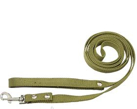 Повідець брезентовий 20мм/4,6 м для собак Фауна 202150