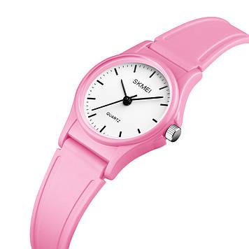 Детские часы SKMEI 1401 светло розовые