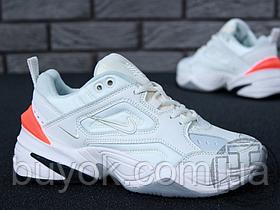 Мужские кроссовки Nike M2K Tekno Grey White Ctimson AO3108-001