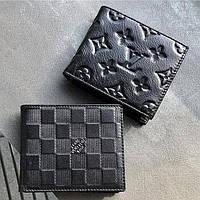 Кожаный кошелек LV