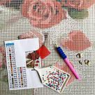 Алмазная вышивка ArtStory Сияющая красота (ASM11) 40 х 50 см (На подрамнике), фото 3