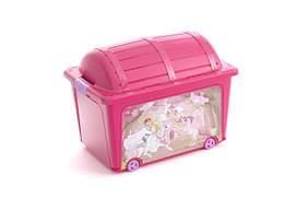 Ящик для игрушек KIS Toy Box 8086000 Розовый