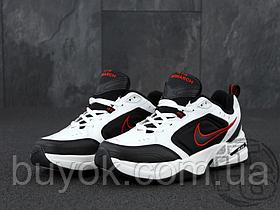 Мужские кроссовки Nike Air Monarch IV White/Black/Red 415445-101