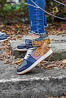 Женские кроссовки Nike Air Force 1 High Travis Scott Cactus Jack (Найк Трэвис Скотт Кактус Джек) CN2405-900