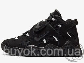 Мужские кроссовки Nike Air Barrage Mid Triple Black AT7847-002