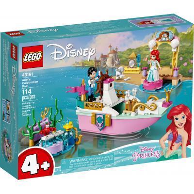 Конструктор LEGO Disney Princess Праздничный лодка Ариэль 114 деталей